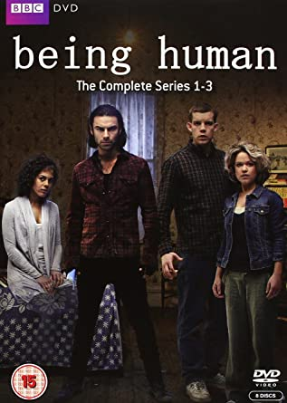 Being Human Complete Series 1 3 Box Set Dvd Amazonco
