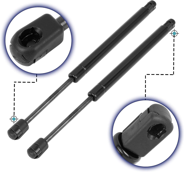 X AUTOHAUX 2pcs Rear Trunk Lift Supports Struts Shocks Gas Spring SG330106 for Chevrolet Malibu 2008-2012