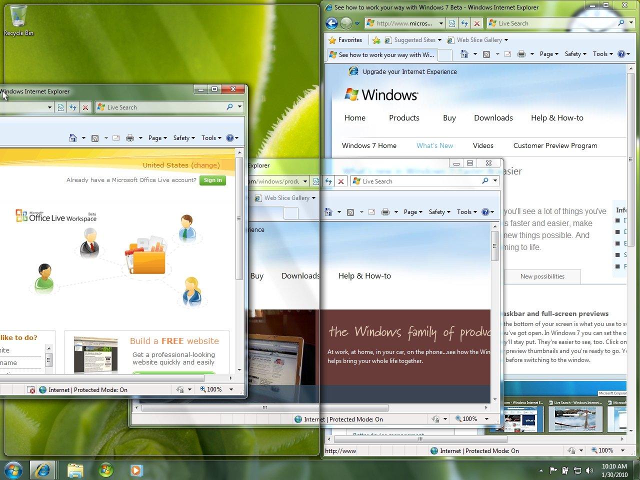 Microsoft Windows 7 Home Premium - Full Version (PC DVD), 1 User ...
