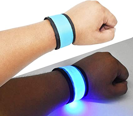 Details about  /LED Armband Lights Bangle Ankle Night Lamp Rechargeable//Battery Running Outdoor