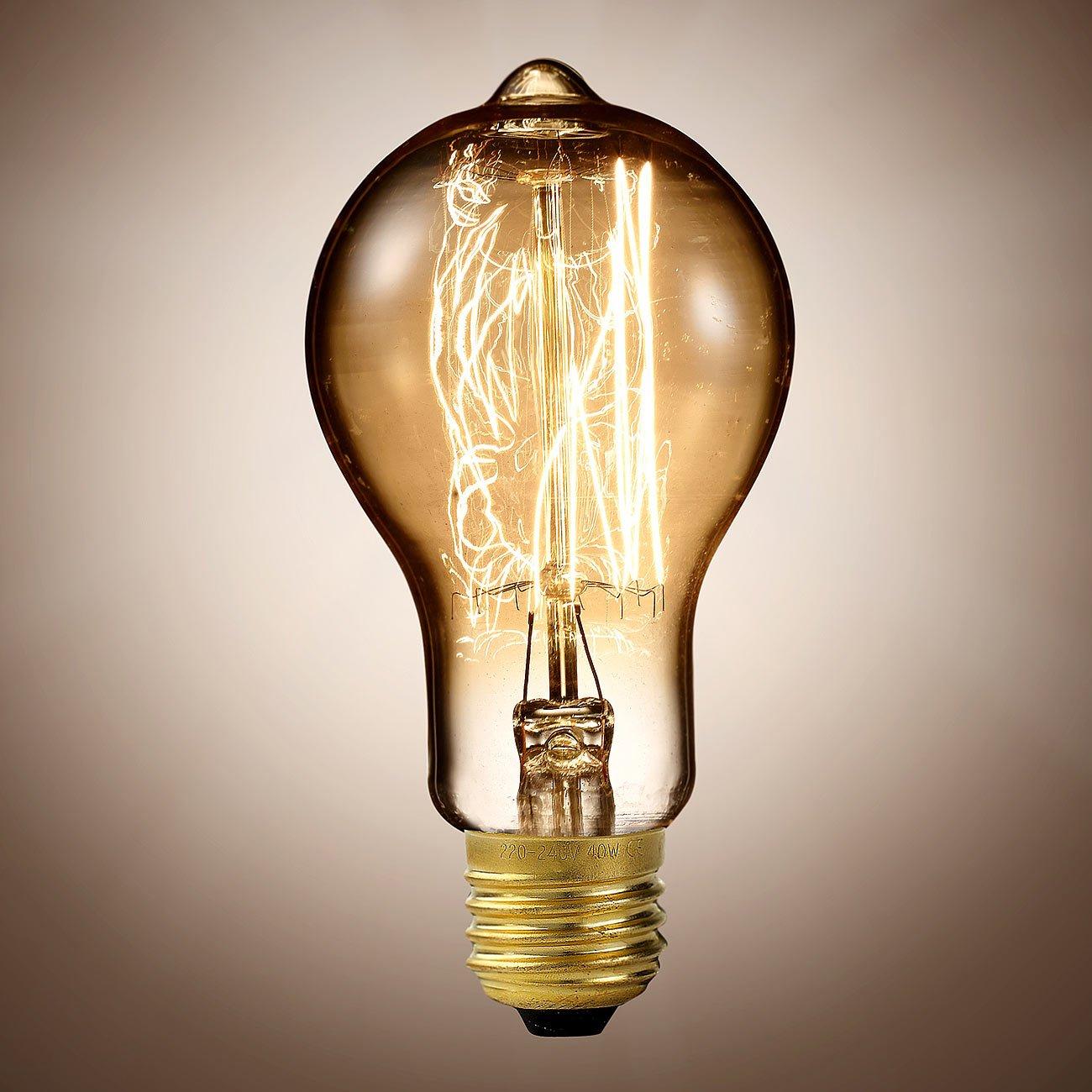Luminea Edison Lampe: Vintage-Schmucklampe: Amazon.de: Elektronik