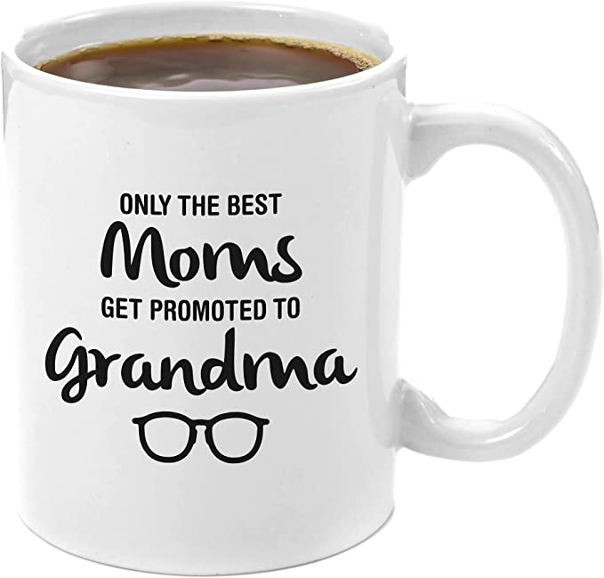 Best Mum Gets Promoted To Grandma Personalised Engraved Wine Glass BMTG-WG