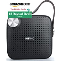 2018 Stocking Stuffers - Ultra-Portable Bluetooth Speaker - HiFi Micro - Louder Room Filling Volume, Premium Sound Quality, Mic, Waterproof, Extended Battery Life