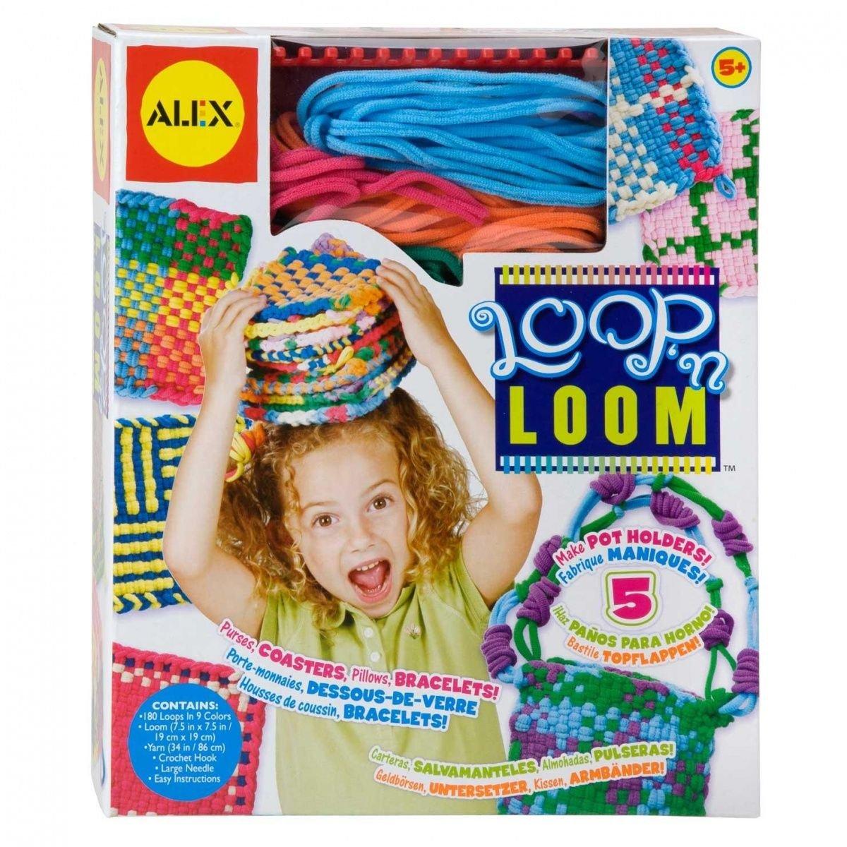 B000GKXWZO ALEX Toys Craft Loop 'N Loom 71YXj1YqwXL
