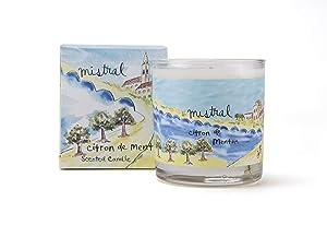 Mistral Menton Citrus Glass Candle
