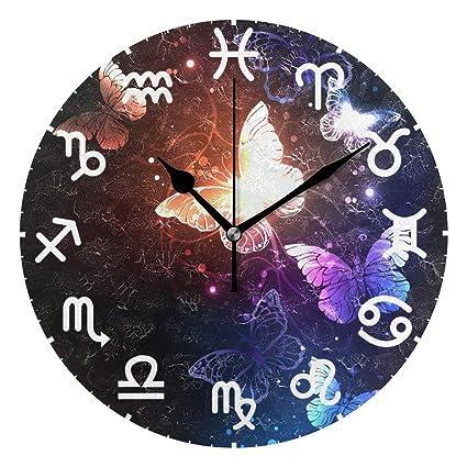 Amazon com: HULKBIDBN 12 Zodiac Signs Night Glowing Butterflies Dark