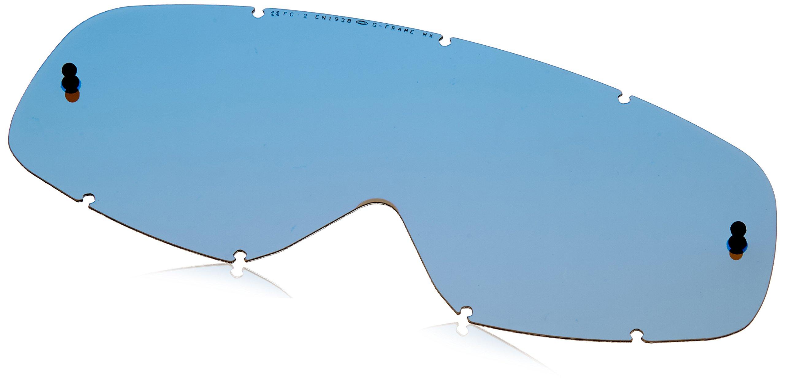 Oakley O MX Men's Replacement Lens (Ice Iridium) by Oakley