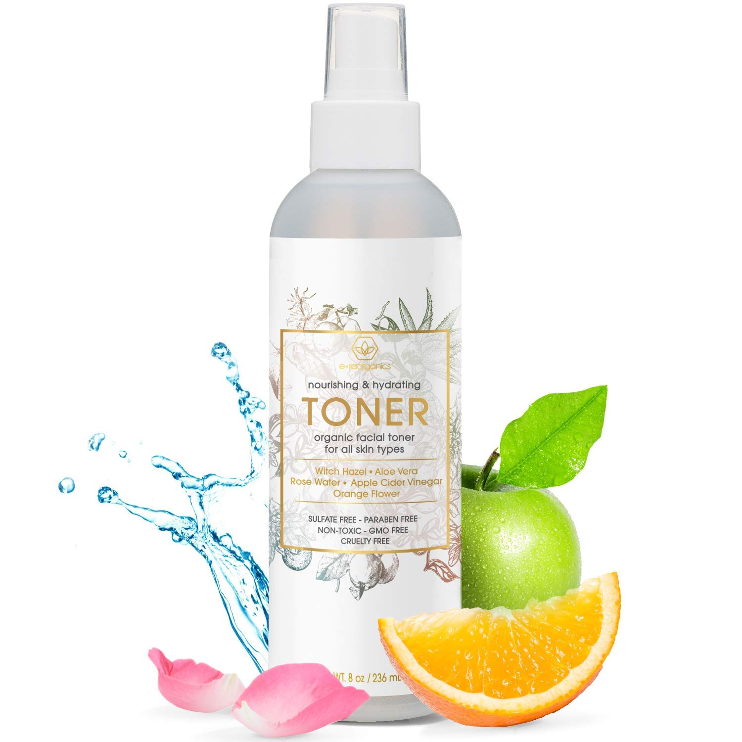 Natural and Organic Face Toner
