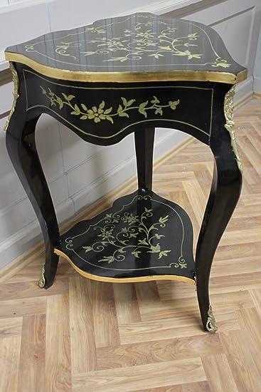 Barock Tisch Antik Stil Beistelltisch LouisXV AaTa0124 Antik Stil  Massivholz. Replizierte Antiquitäten Von LouisXV Buche