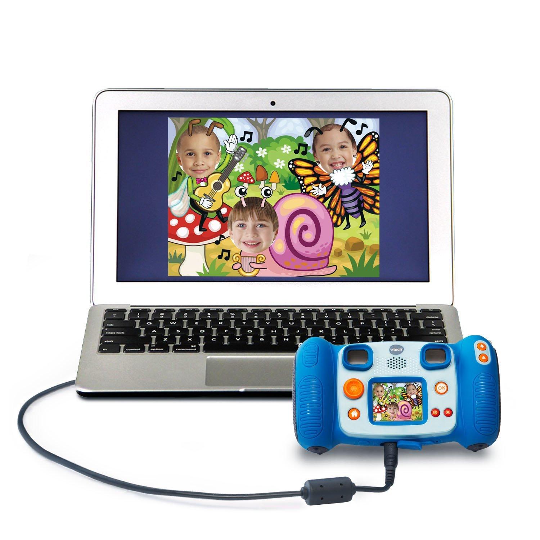 VTech Kidizoom Camera Pix, Blue (Frustration Free Packaging) by VTech (Image #3)