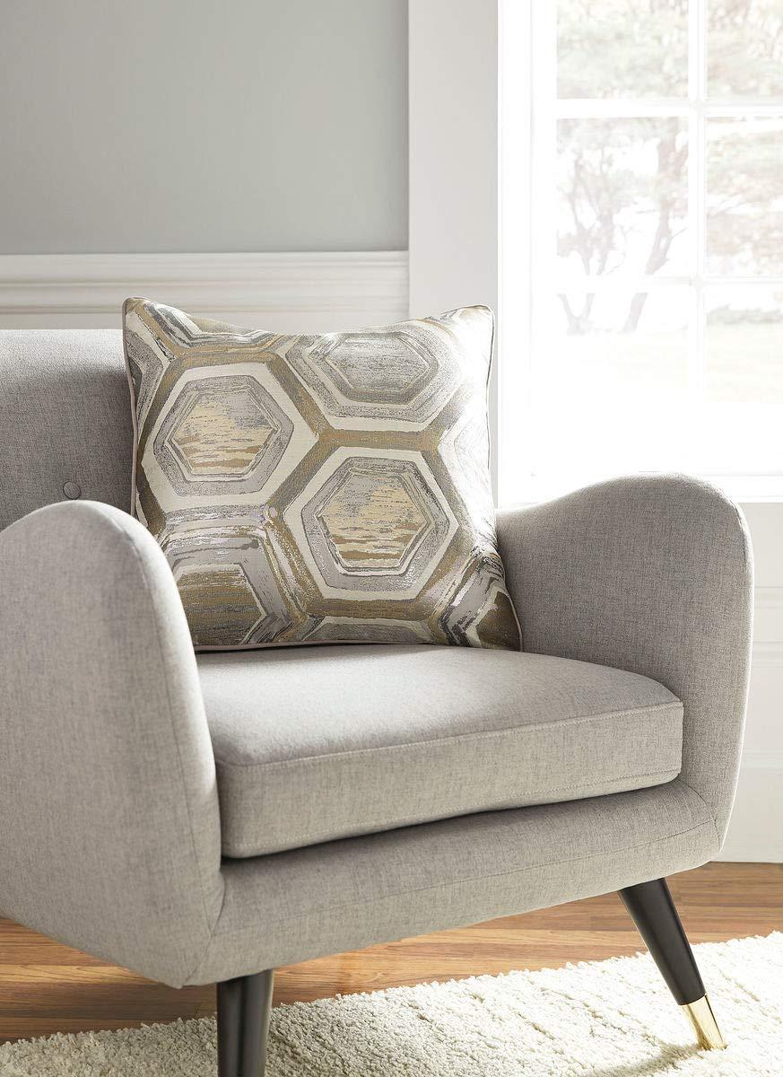 Ashley Hexagon Foil Pillow Set of 4