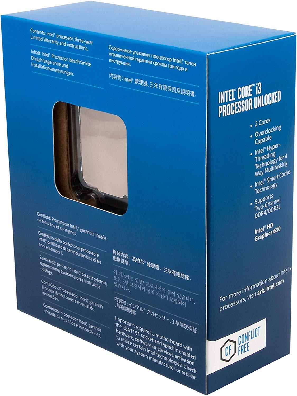 Intel 7th Generation Core i3-7350K 4.20 GHz FCLGA1151 Desktop Processor BX80677I37350K