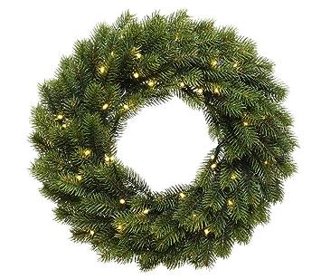 Zeitzone Led Kranz Weihnachten Turkranz Beleuchtung Batterie Mit