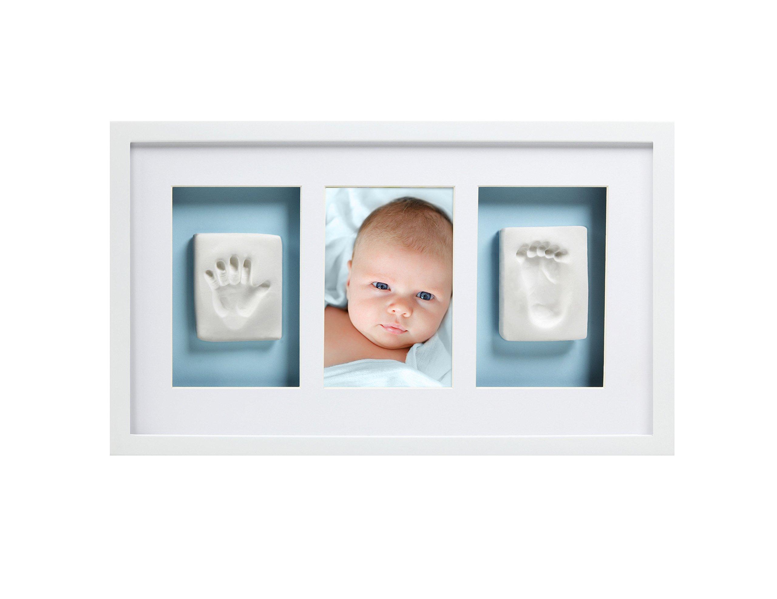 Amazon.com : Pearhead Babyprints Baby Handprint or Footprint Wall ...