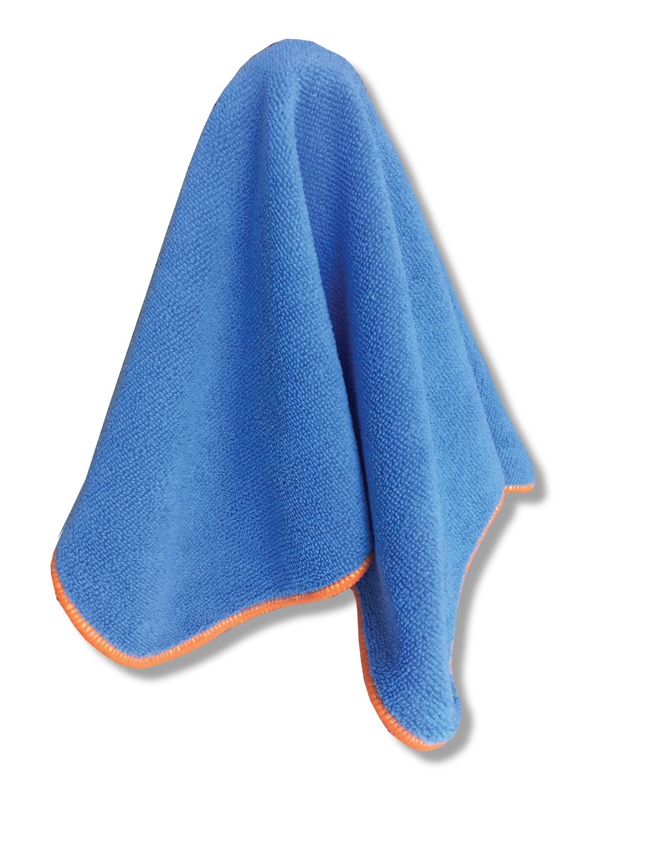 12'' x12'' Microfiber Cleaning Cloths with EPA Registered Silverclear DG-300 - Proven Killer of Viruses, Bacteria, and Staph MERSA - Go Beyond Ordinary Cleaning - 10 Pack of Washable/Reusable Cloths