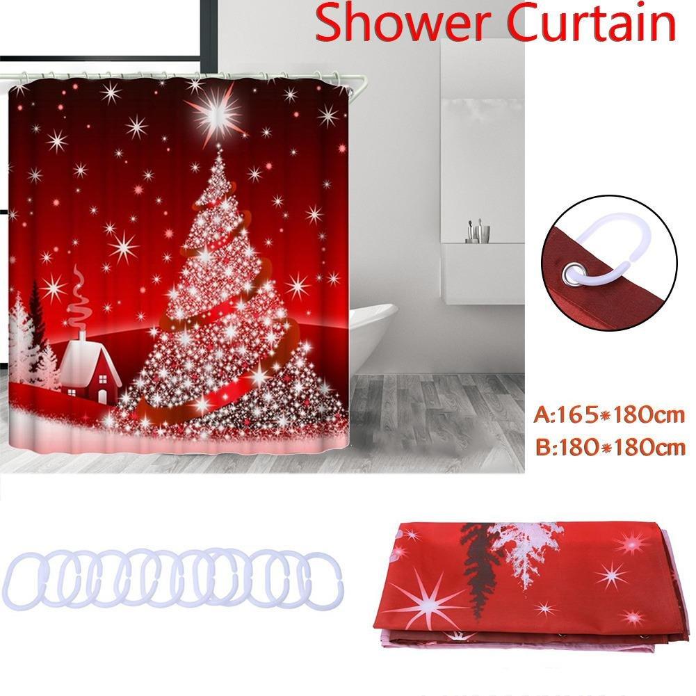 Duschvorhang Badezimmer Wasserdicht Mildewproof 3D Gedruckt ...