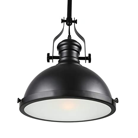 Large pendant lighting fixtures Dining Baycheer Hl371268 Industrial Retro Iron Light Bulb Country Painting Large Pendant Light Fixture Ceiling Lamp Chandelier With Light Black Amazoncom Shades Of Light Baycheer Hl371268 Industrial Retro Iron Light Bulb Country Painting