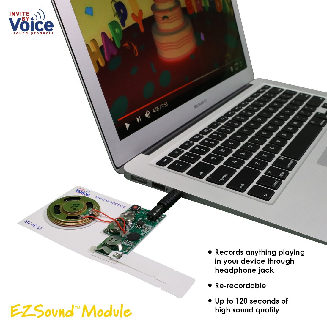 Amazon Ezsound Module For Diy Audio Cards Easy To Record