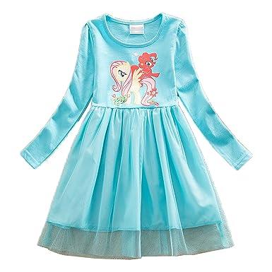 Amazon.com: Wnitefg My Little Pony Toddler Girls\' Pleated Skirt ...