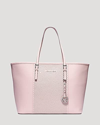 a85871c51e96 Amazon.com: Michael Kors Microstud Center Stripe Medium Travel Blossom Tote  New: Shoes
