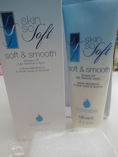 Avon Skin So Soft Soft & Smooth ducha de luz pulsada Crema con humedad complejo 125