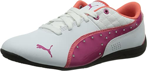 Chaleco volverse loco Encommium  PUMA Damen Drift Cat 6 Diamonds Jr Low-Top, Weiß (White-Fuchsia Purple 01),  38.5 EU (5.5 Kinder UK): Amazon.de: Schuhe & Handtaschen