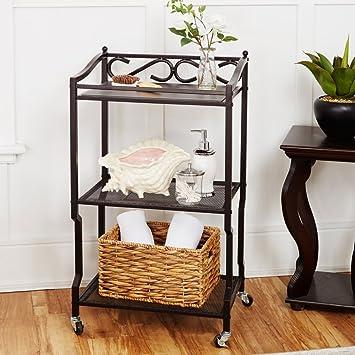 chapter 3 shelf bathroom storage cart home kitchen