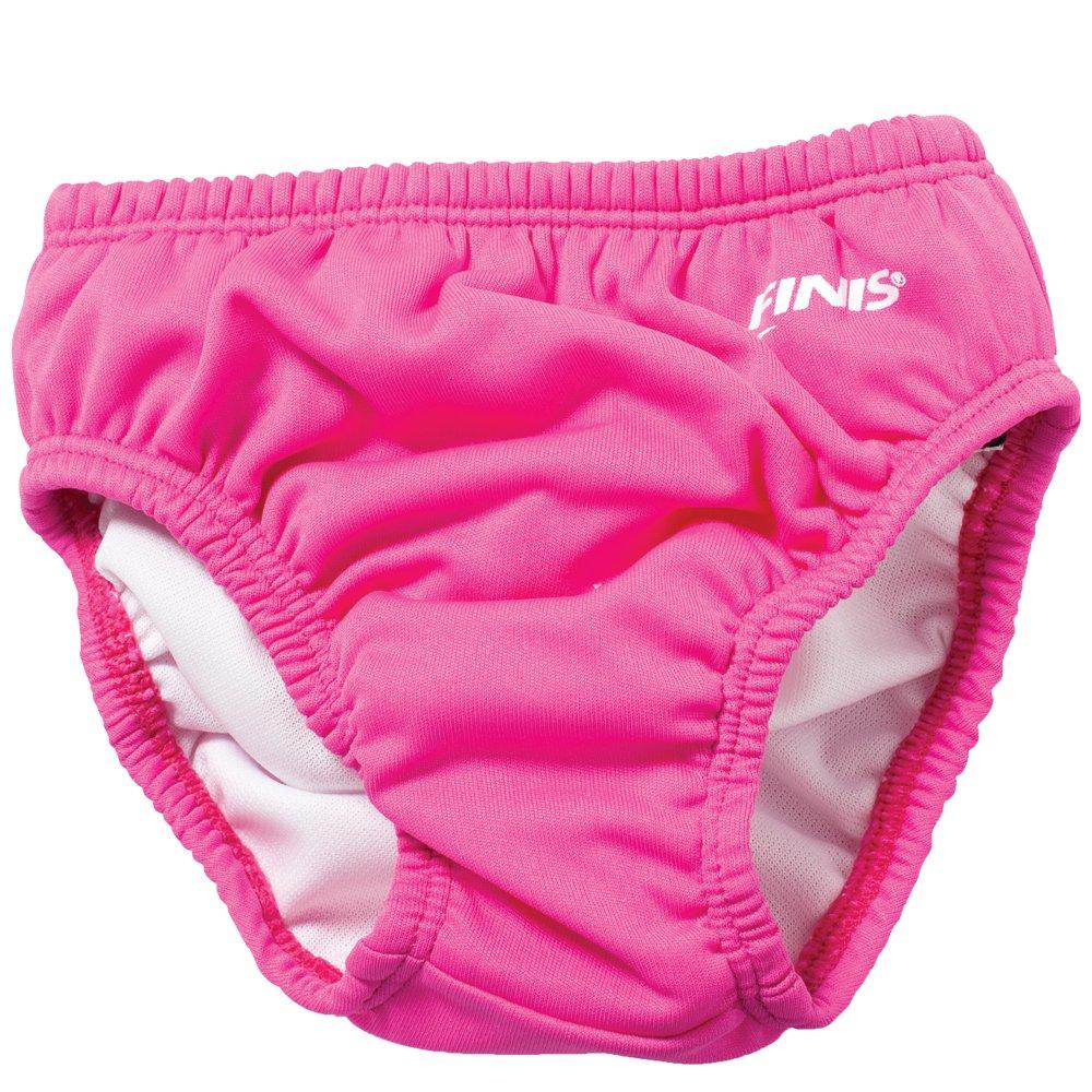 Solid Pink FINIS Reusable Swim Diaper
