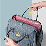 SUNVENO Diaper Bag Backpack Nappy Changing Bag