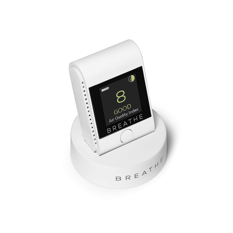 BREATHE|Smart /è un dispositivo che monitora l/'inquinamento atmosferico e misura la qualit/à dell/'aria in ambienti al chiuso e all/'esterno.
