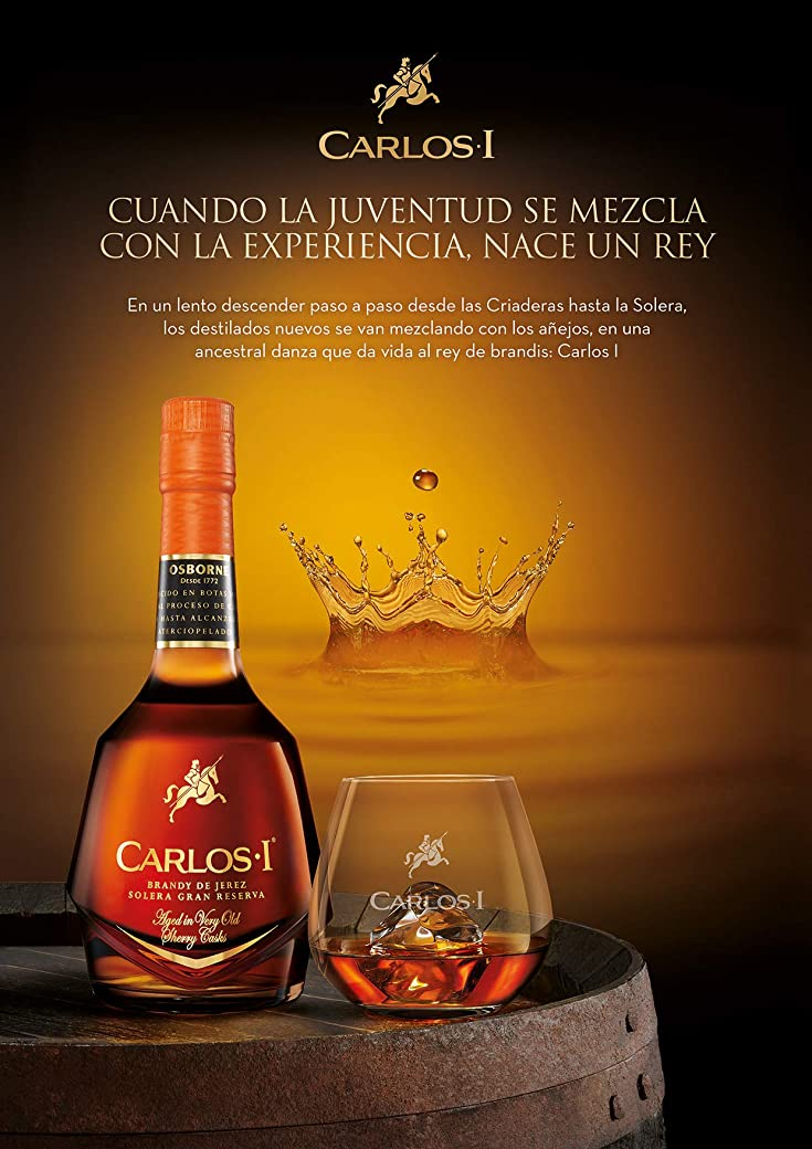 Carlos I Brandy de Jerez Solera Gran Reserva