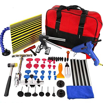 Buying A Car With Hail Damage >> Whdz Auto Body Paintless Repair Removal Tools Automotive Door Ding Dent Silde Hammer Glue Puller Repair Starter Set Kits For Car Hail Damage And Door