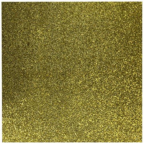 Gold Glitter Cardstock