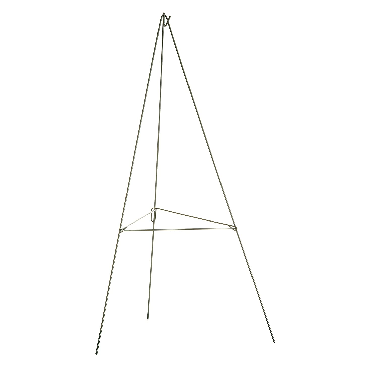 Darice AME27E Floral Metal Wire Easel 27 Green