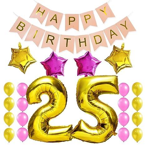 Kungyo Dulce Fiesta De Cumpleanos Kit Decoraciones Happy Birthday