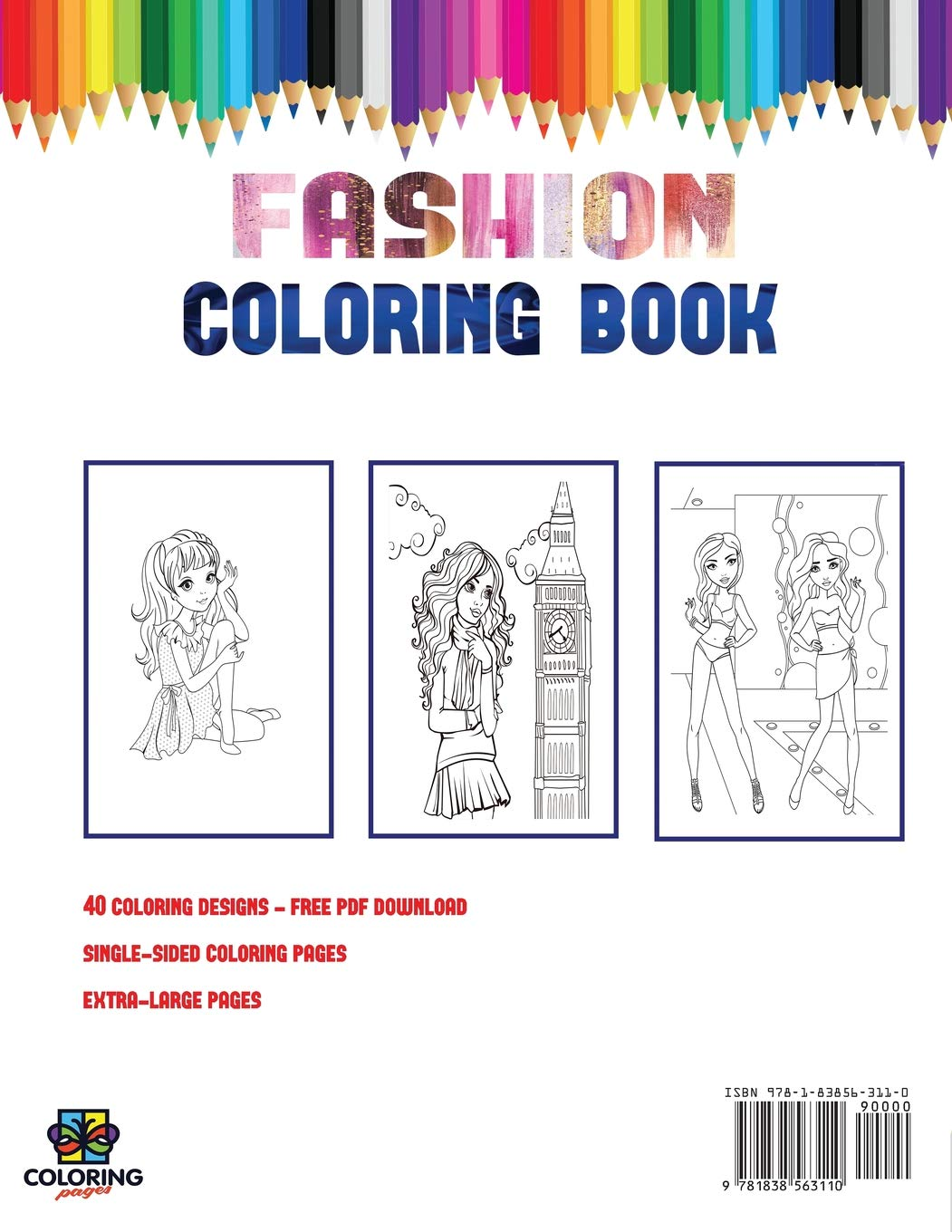 🎨 Fashion Coloring Pages 17 - Kizi Free 2020 Printable Coloring ... | 1360x1051
