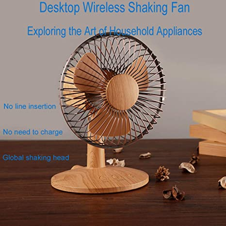 ❤SU/&YU❤Shaking Head Mini Fan Desktop Fan Home Fan USB Charging Fan