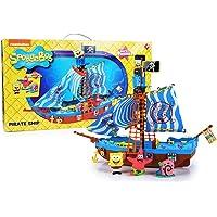 Simba Bob Esponja - Barco pirata, incluye figura de Sponge Bob, Gary y Patricio 9499928