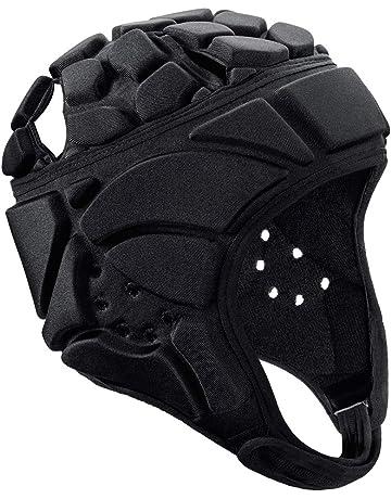 8bf34131 FAVORGEAR Soccer Goalie Helmet, Soft Padded Headgear Protection for Flag  Football, Team Sports,