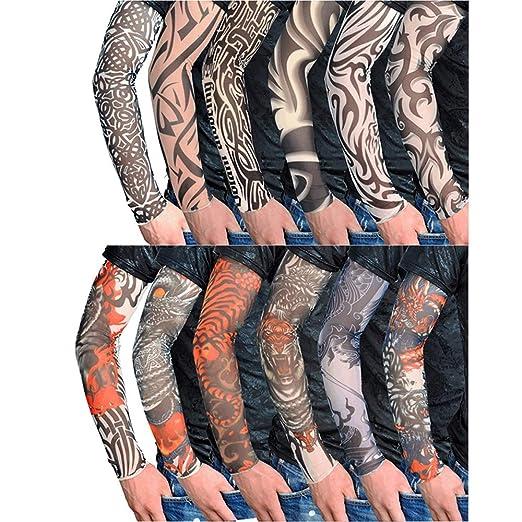 Mangas Tatuajes Falsos Cool Body Arts Falso Tatuaje Temporal ...