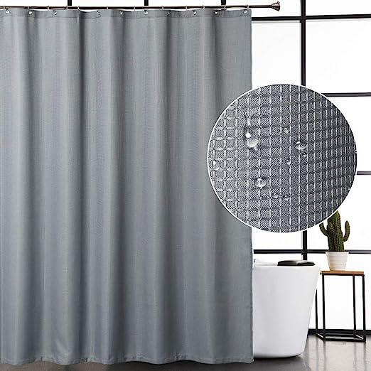 Designer Cream Grey Striped Woven Heavyweight Curtain Sofa Chair Fabric