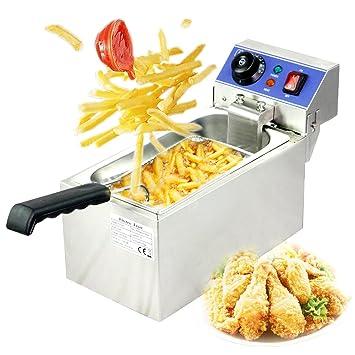 Itop - Freidora eléctrica Kleine gewerbl iche Cocina Cocinar ...