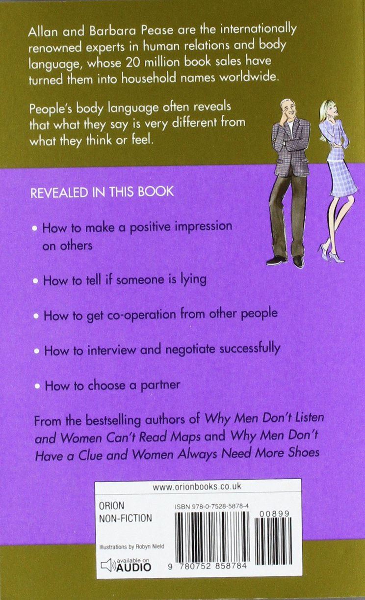 The definitive book of body language how to read others attitudes by their gestures amazon co uk allan pease barbara pease 8601404247538 books