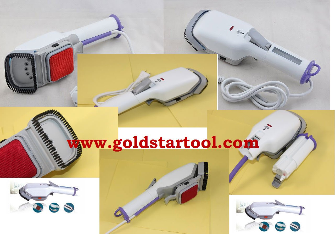 Stainless Protable Travel Heat Steam Iron Brush 110 volt by GOLDSTAR (Image #2)