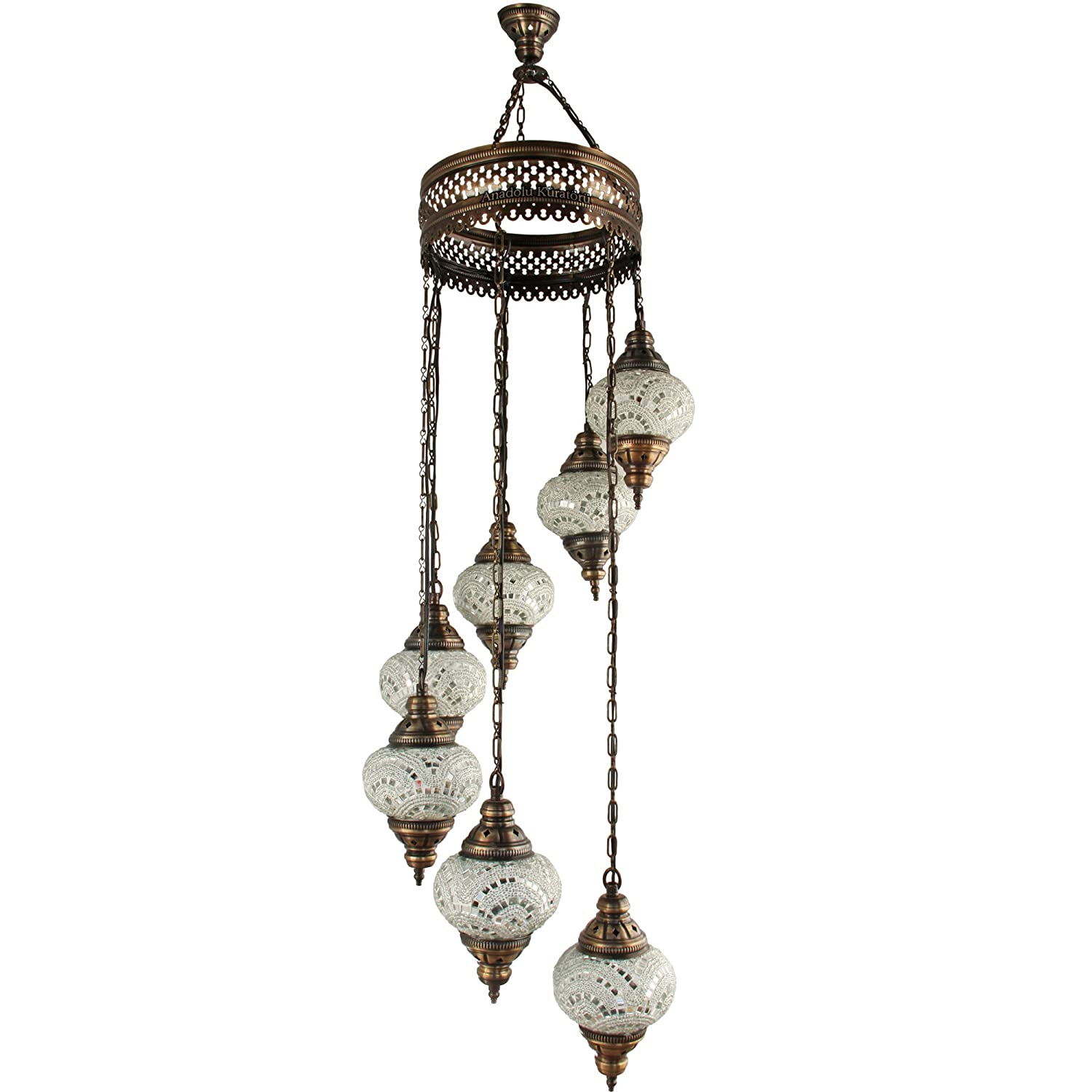 Chandelier Ceiling Lights Turkish Lamps Hanging Mosaic Lights