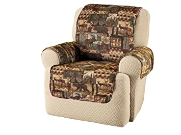 Woodland Lodge Furniture Protector Cover, Brown, Chair