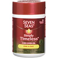 Seven Seas Omega-3 Fish Oil Plus Cod Liver Oil One-a-Day 30 Capsules