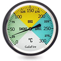 GALAFIRE 2 6/8 Pulgadas Parrilla de Barbacoa Termómetros