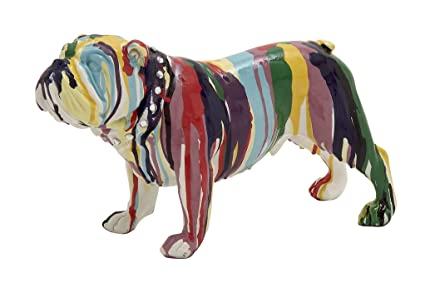 Amazon.com: Deco 79 44252 Poly Stone Bulldog Home Decor Product