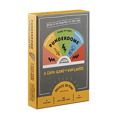 Penguin Random House Punderdome: A Card Game for Pun Lovers Deluxe Edition - 20 Extra Cards & More: Toys & Games